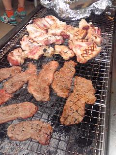 今日二つ目の予定「和田堀公園で会社の人とバーベキュー」